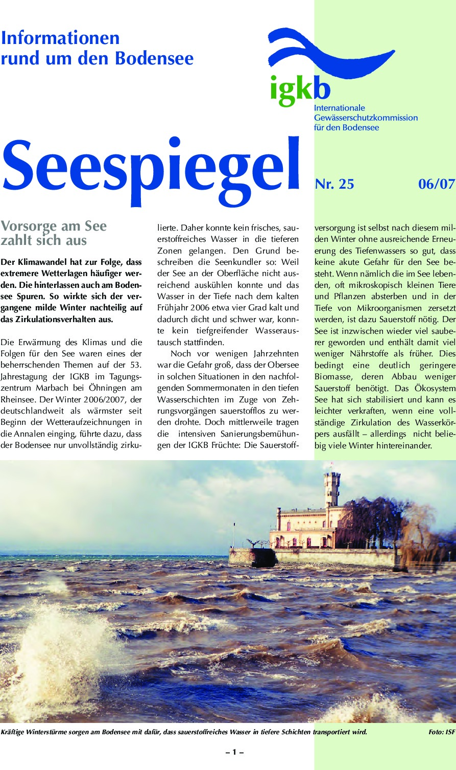 thumbnail of Seespiegel-Nr-25