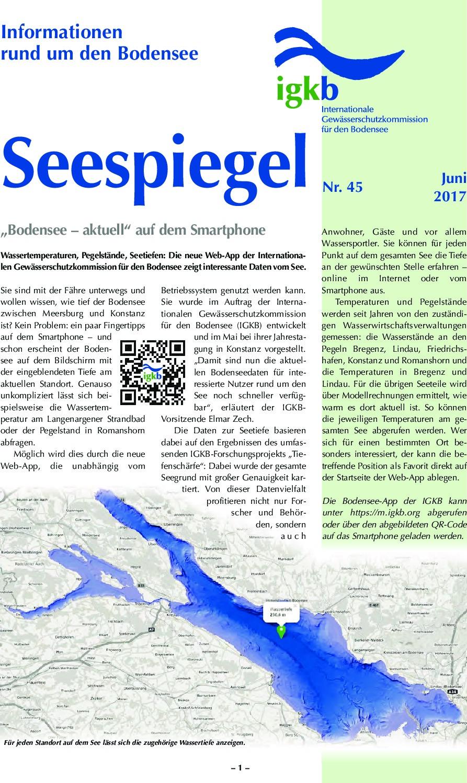 thumbnail of Seespiegel-Nr-45
