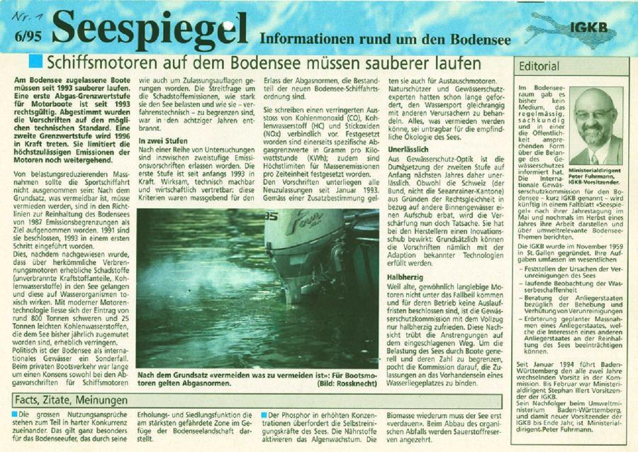 Ausgabe Nr. 01 - Juni 1995
