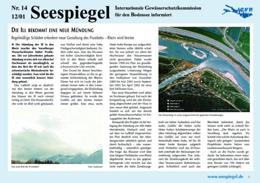 Ausgabe Nr. 14 - Dezember 2001
