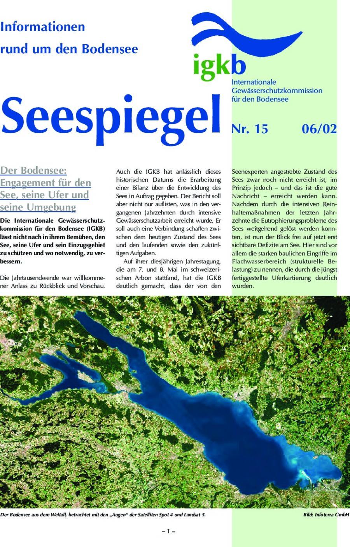 Ausgabe Nr. 15 - Juni 2002