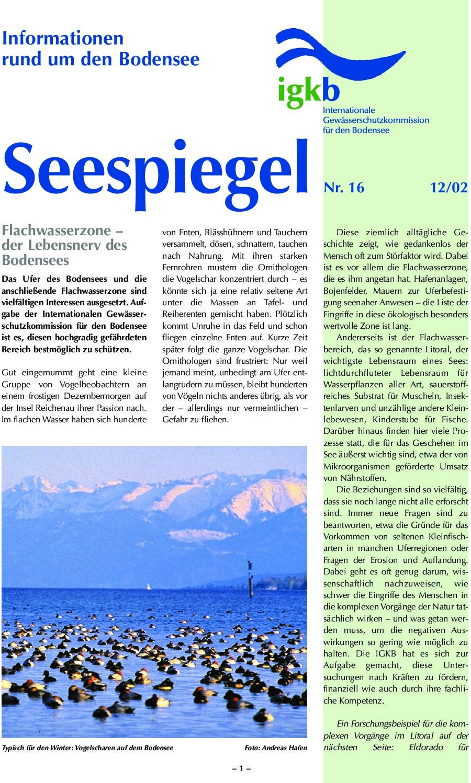 Ausgabe Nr. 16 - Dezember 2002