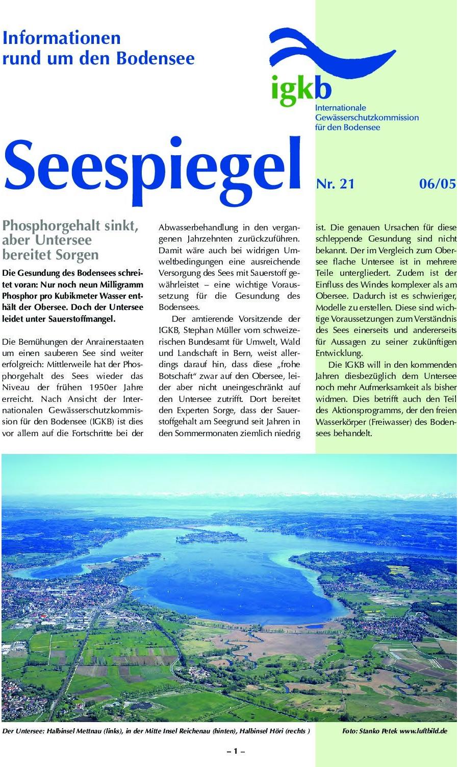 Ausgabe Nr. 21 - Juni 2005