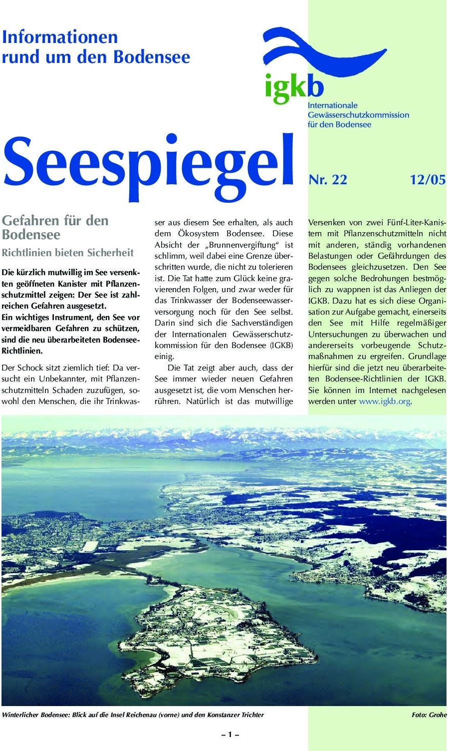 Ausgabe Nr. 22 - Dezember 2005