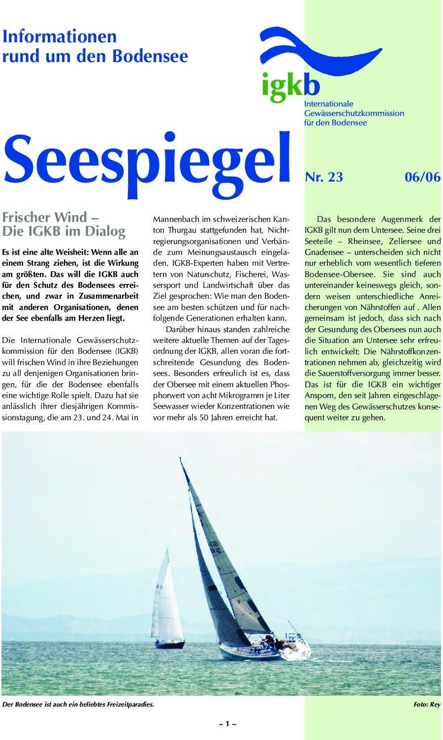Ausgabe Nr. 23 - Juni 2006