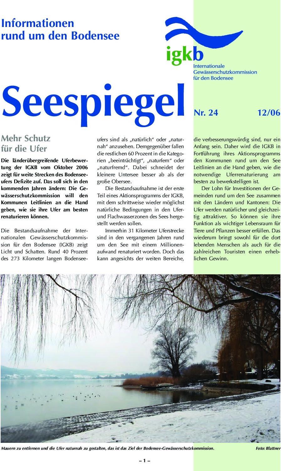 Ausgabe Nr. 24 - Dezember 2006
