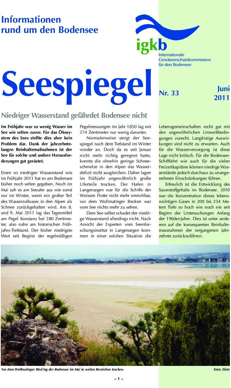 Ausgabe Nr. 33 - Juni 2011