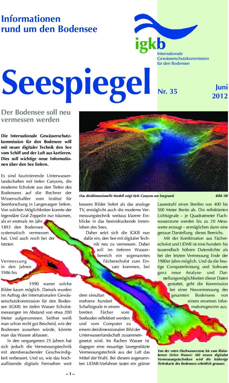 Ausgabe Nr. 35 - Juni 2012