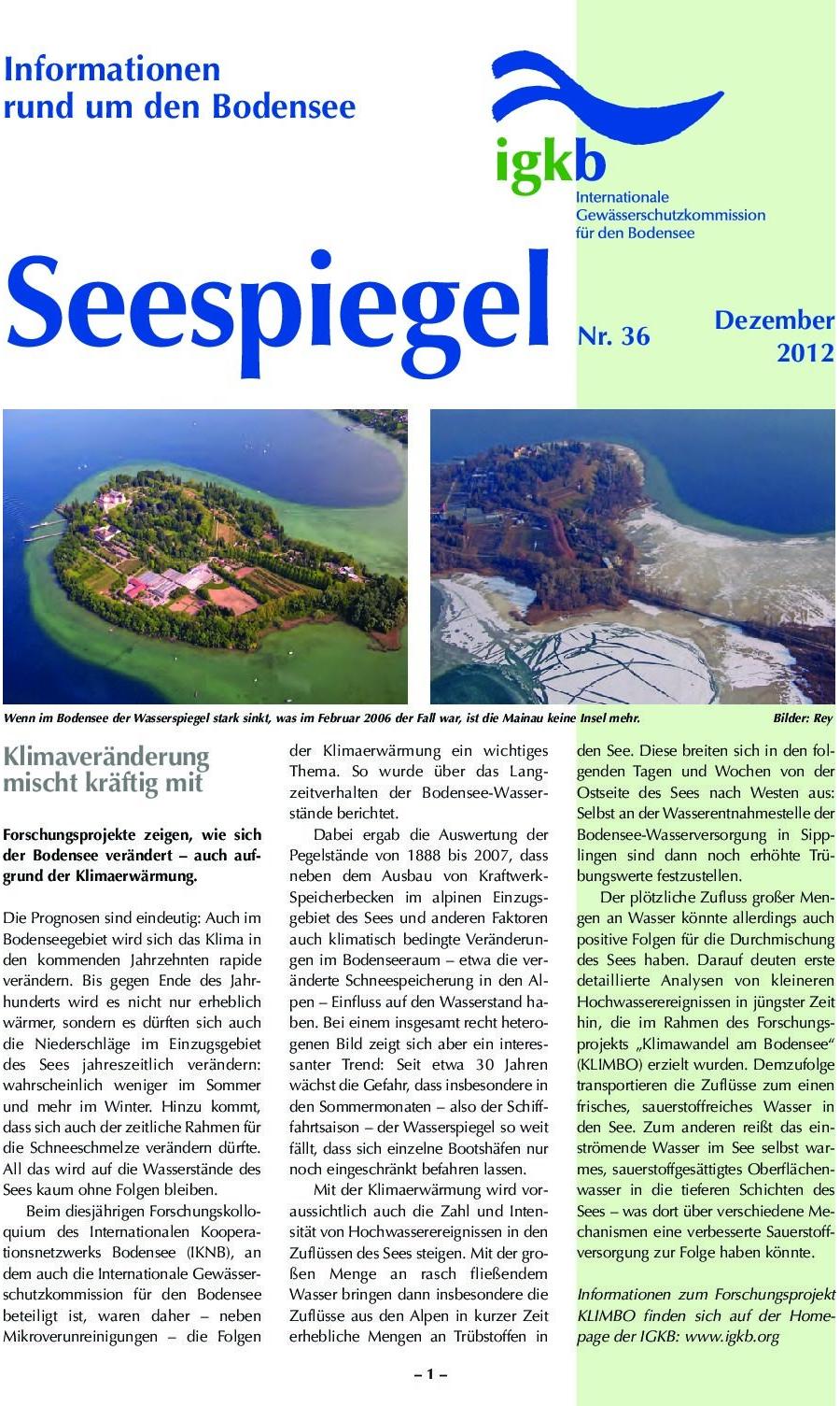 Ausgabe Nr. 36 - Dezember 2012