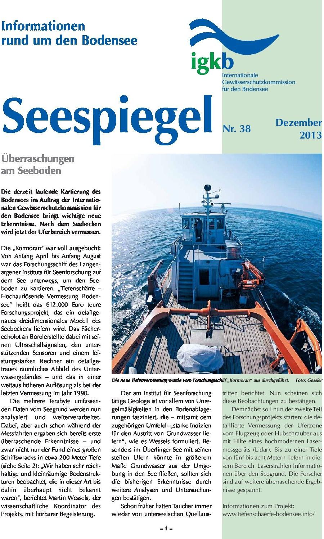 Ausgabe Nr. 38 - Dezember 2013