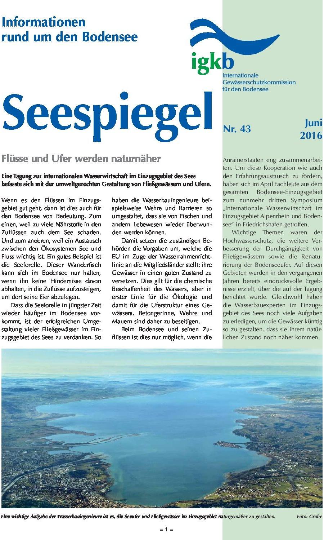 Ausgabe Nr. 43 - Juni 2016