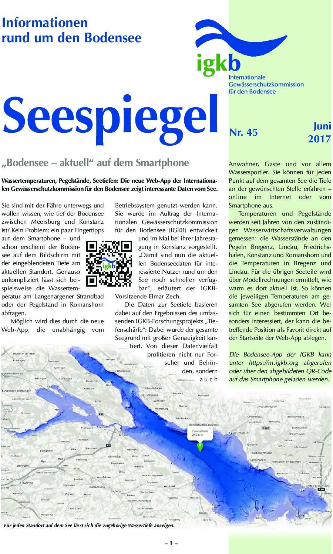 Ausgabe Nr. 45 - Juni 2017