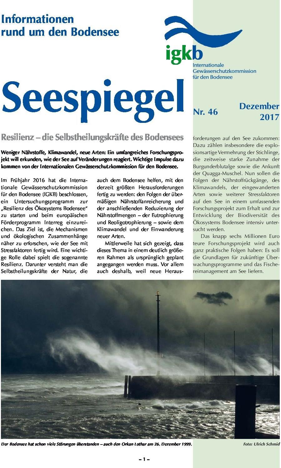 Ausgabe Nr. 46 - Dezember 2017