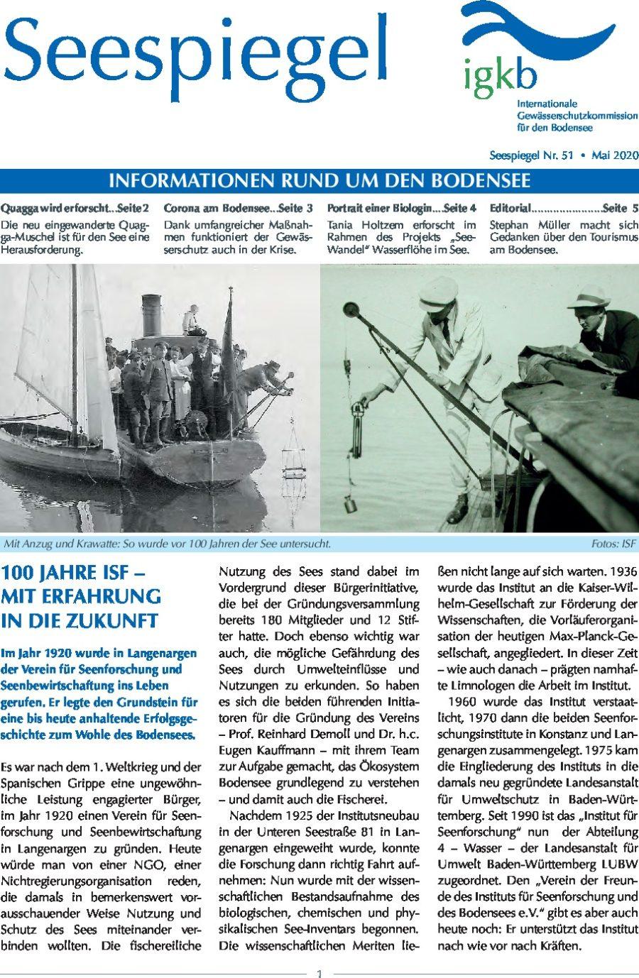 Ausgabe Nr. 51 - Mai 2020